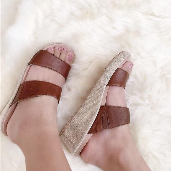 4c06f2c89043 CROCS Shoes - NWOT Crocs Women s A-leigh 2-strap Mini Wedge